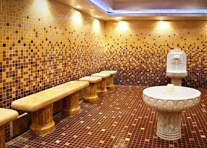 سونای بخار هتل بزرگ شیراز
