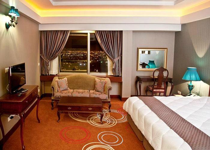 اتاق دو تخته دبل هتل بزرگ شیراز