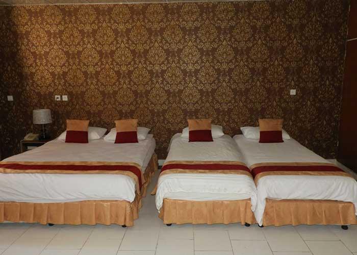 اتاق چهار تخته هتل سیمرغ