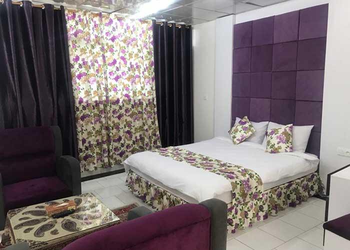 اتاق دو تخته هتل سیمرغ کیش