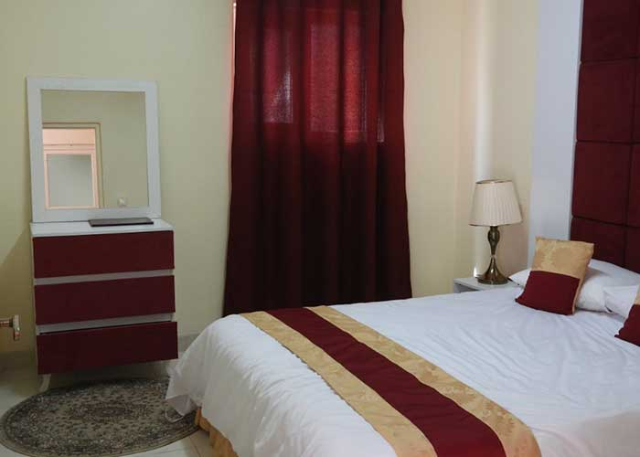 تصاویر اتاق دو تخته هتل سیمرغ کیش