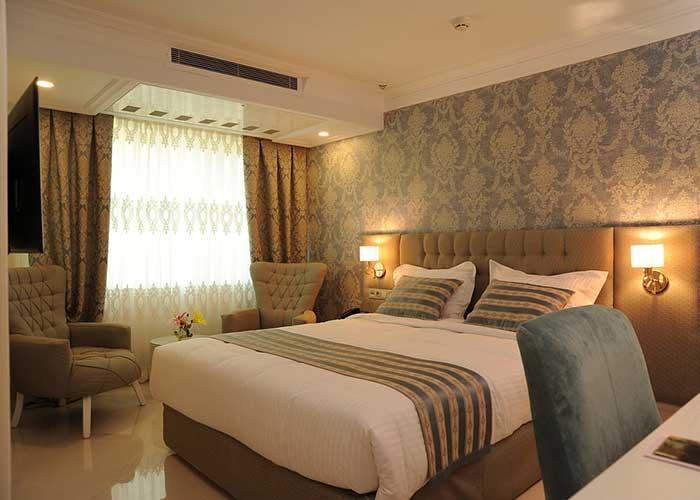 اتاق دو تخته دبل هتل سیمرغ تهران