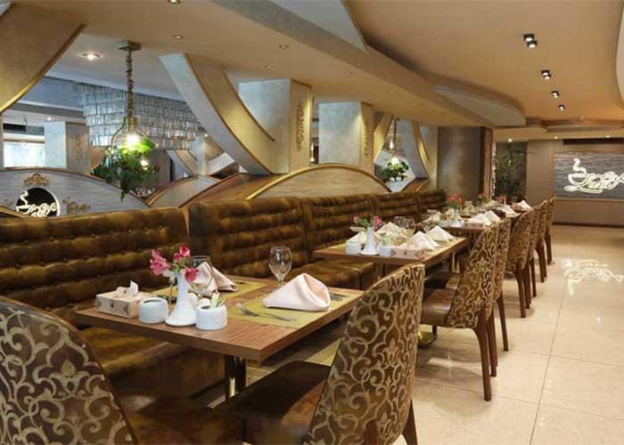 کافه رستوران لارا هتل سیمرغ تهران
