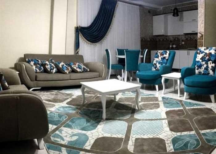 آپارتمان یک خوابه دو تخته هتل آپارتمان سینا قزوین