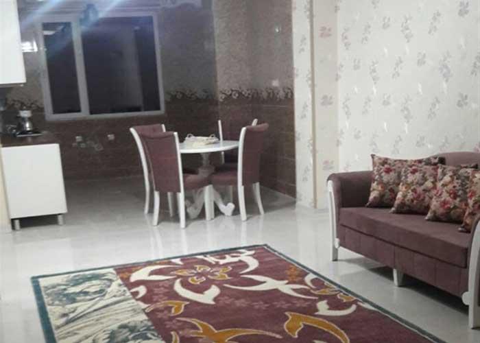 آپارتمان دو خوابه چهارتخته هتل آپارتمان سینا قزوین