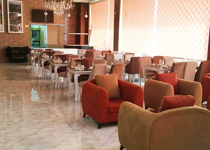 رستوران هتل آپارتمان سینا قزوین