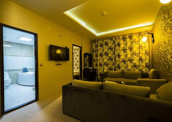 سوئیت ویژه هتل شورابیل اردبیل