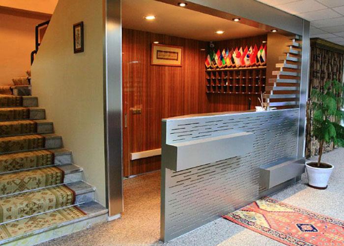 پذیرش هتل شورابیل اردبیل
