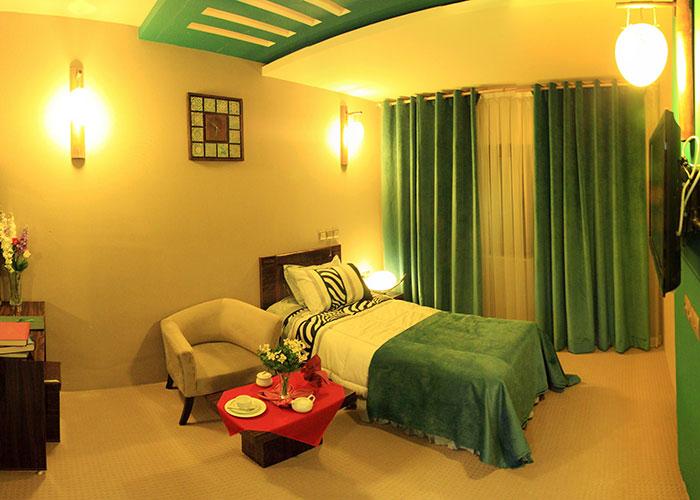 اتاق هتل شورابیل اردبیل