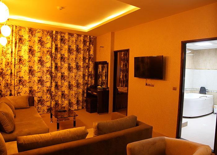 تصاویر اتاق هتل شورابیل اردبیل