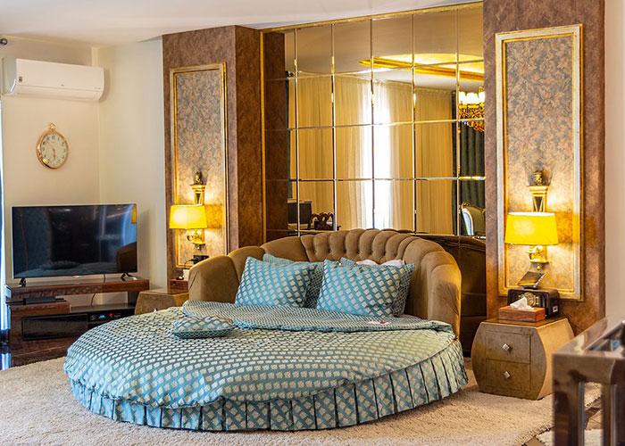 سوئیت دو تخته سناتور هتل آپارتمان تاج محل تهران