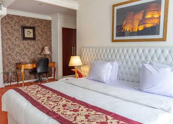 اتاق هتل تاج محل تهران