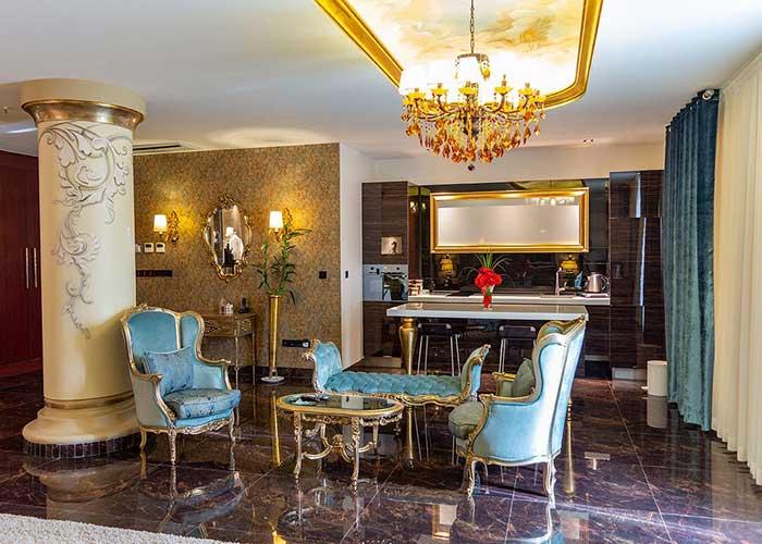 عکس اتاق هتل تاج محل تهران
