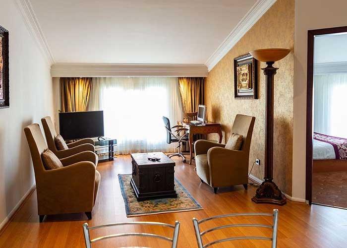 تصاویر اتاق هتل تاج محل تهران