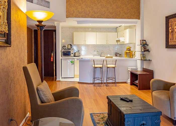 تصاویر سوئیت هتل آپارتمان تاج محل تهران