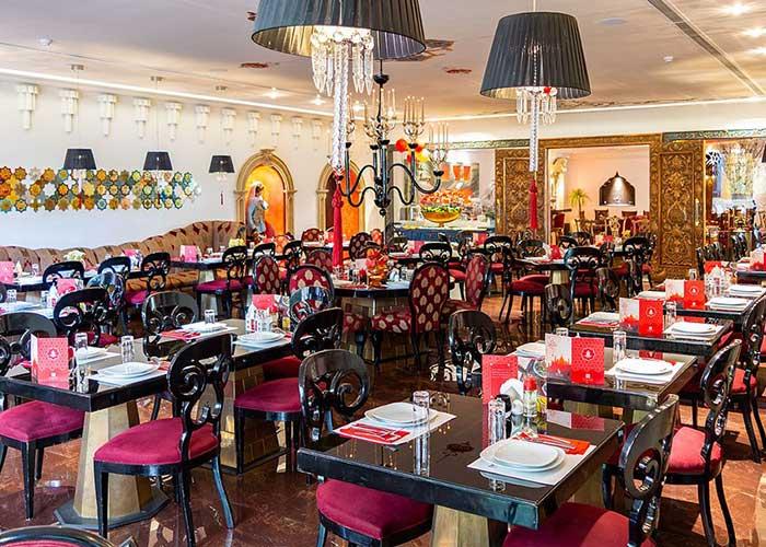 رستوران هتل آپارتمان تاج محل تهران