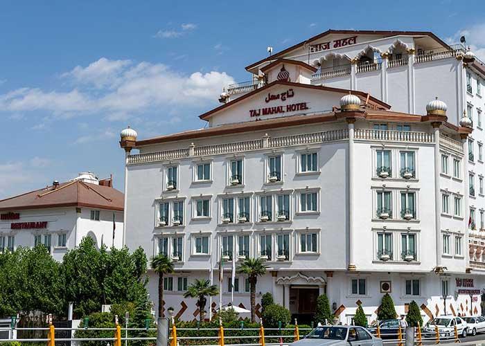 ساختمان هتل آپارتمان تاج محل تهران