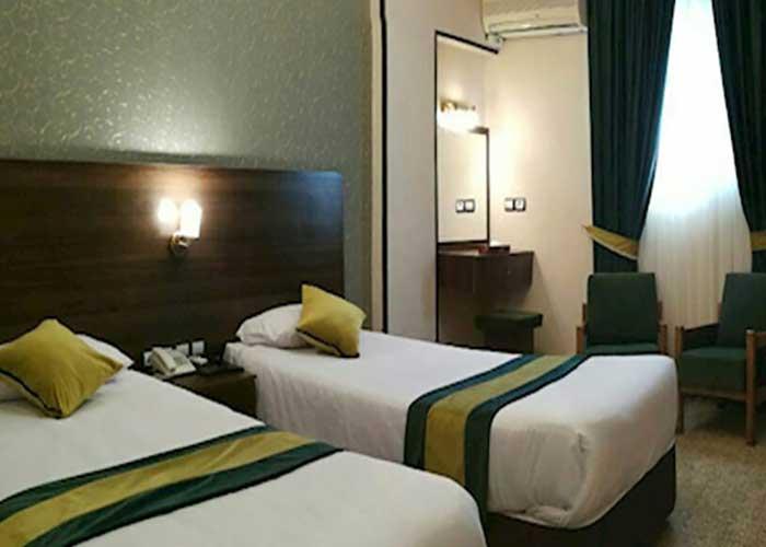 دو تخته توئین هتل تالار شیراز