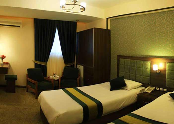 عکس دو تخته توئین هتل تالار شیراز
