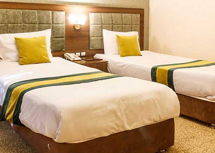 اتاق هتل تالار شیراز