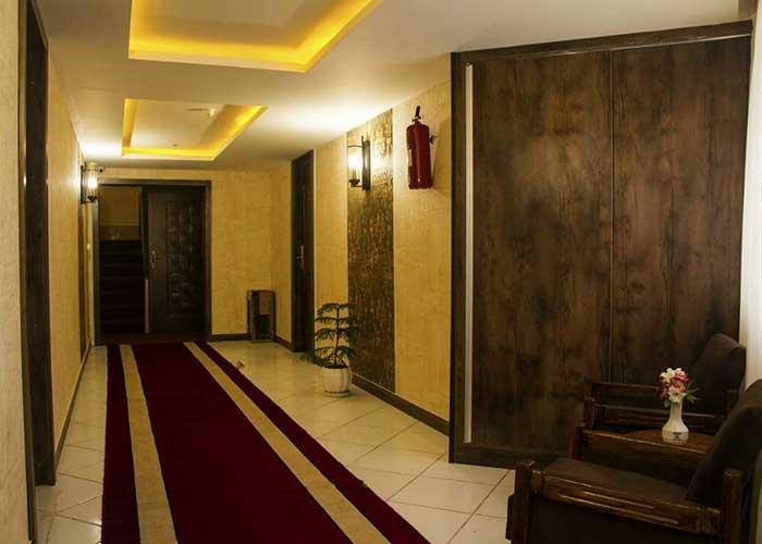 عکس راهرو هتل تالار شیراز