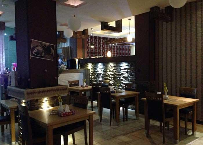 کافی شاپ هتل تالار شیراز