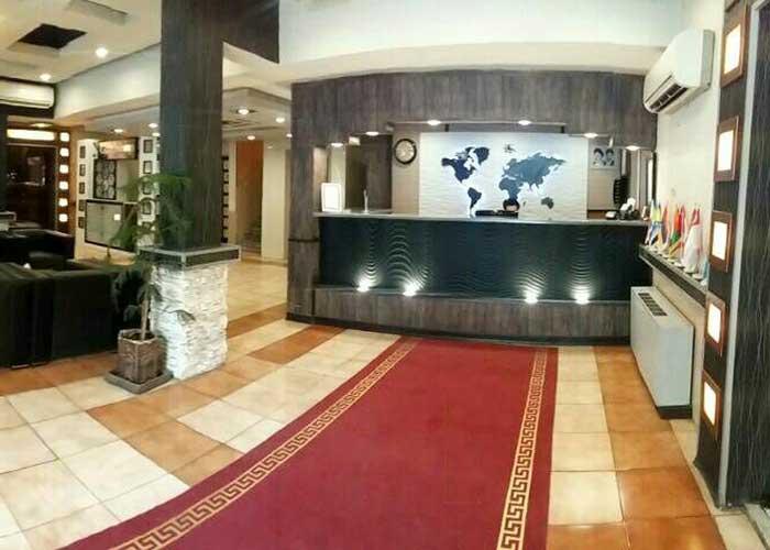 پذیرش هتل تالار شیراز
