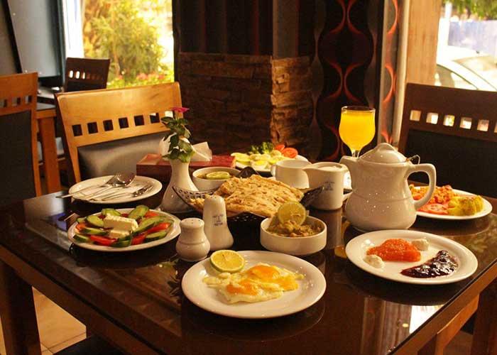 رستوران هتل تالار شیراز