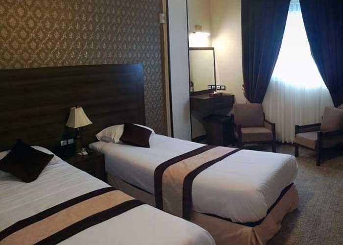 هتل تالار شیراز اتاق توئین