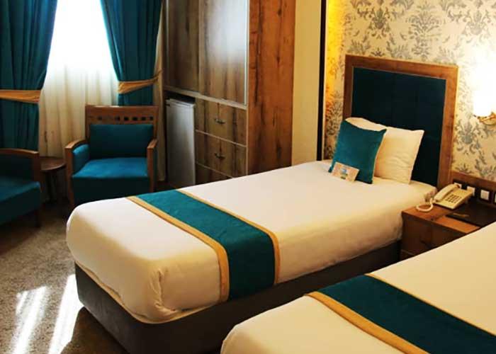 عکس هتل تالار شیراز اتاق توئین