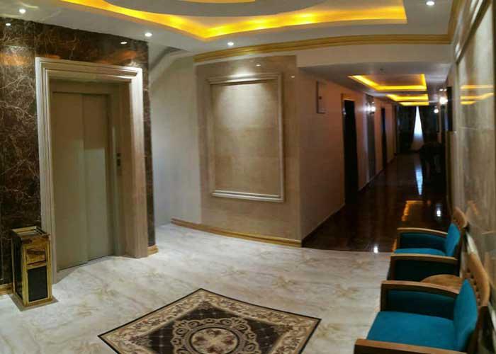 راهرو هتل تالار شیراز
