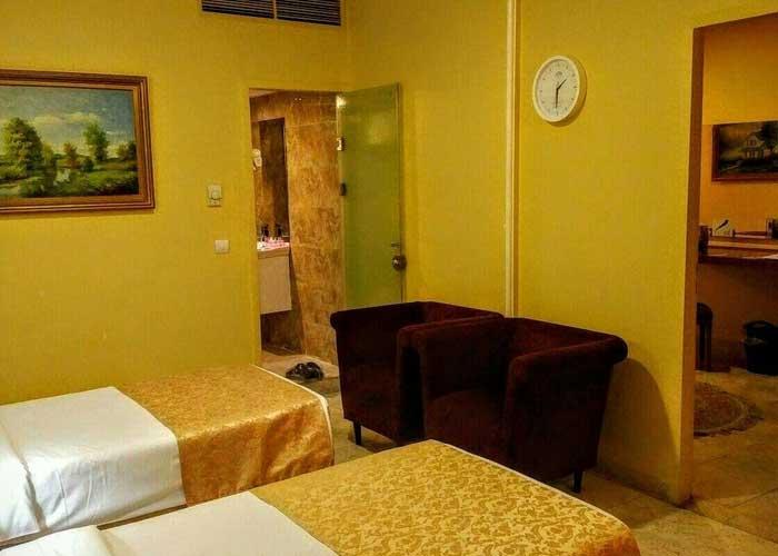 اتاق های هتل تارا مشهد