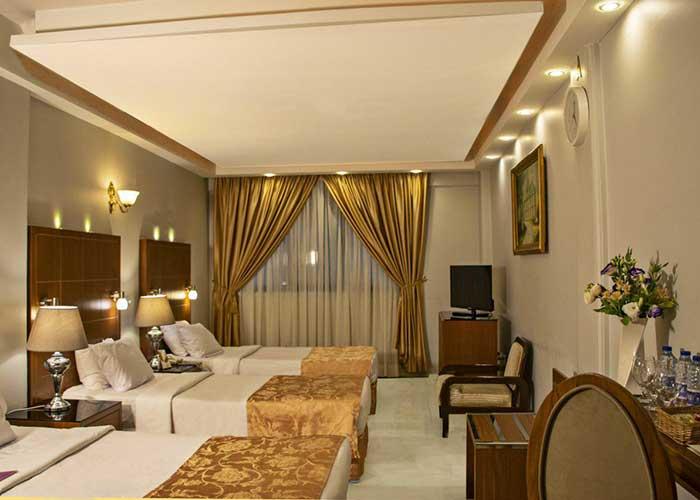 سه تخته کلاسیک هتل تارا مشهد