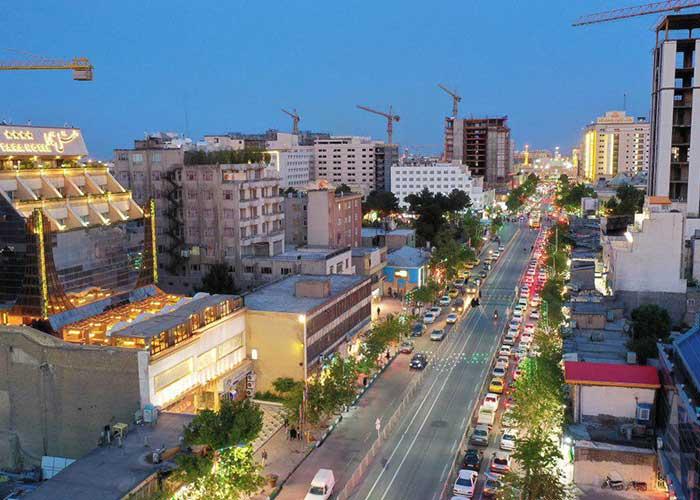 ساختمان هتل تارا مشهد