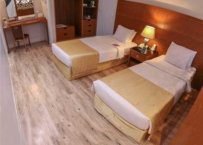 اتاق های هتل تارا