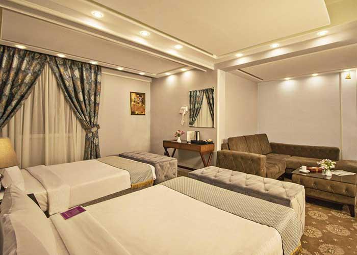 هتل تارا مشهد اتاق