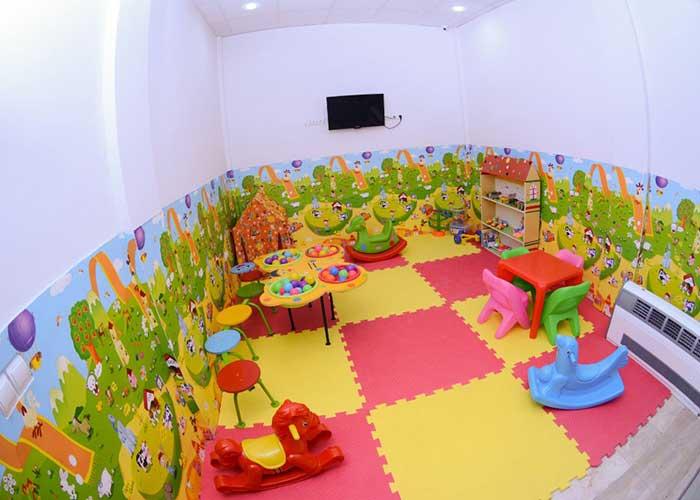 اتاق بازی کودکان هتل تارا مشهد
