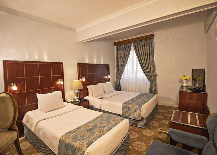 دو تخته استاندارد هتل تارا مشهد