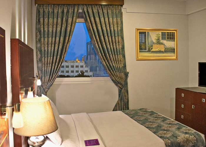 دیلاکس روم هتل تارا مشهد