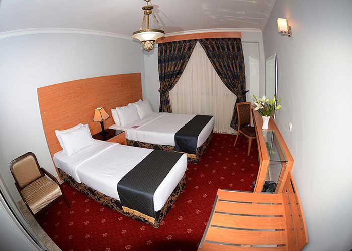 سه تخته استاندارد هتل تارا مشهد