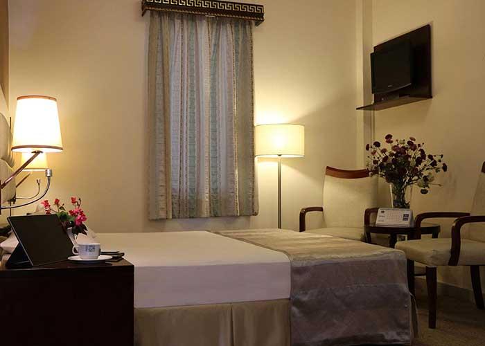 اتاق های هتل تعطیلات کیش
