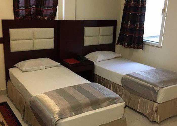 اتاق های هتل تعطیلات