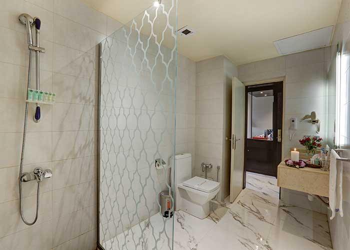 سرویس حمام اتاق های هتل بزرگ تهران