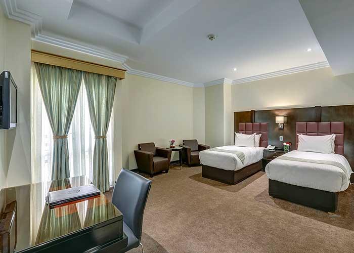 اتاق دو تخته توئین هتل بزرگ تهران