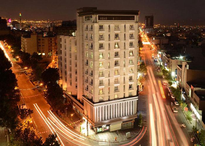 ساختمان هتل بزرگ تهران