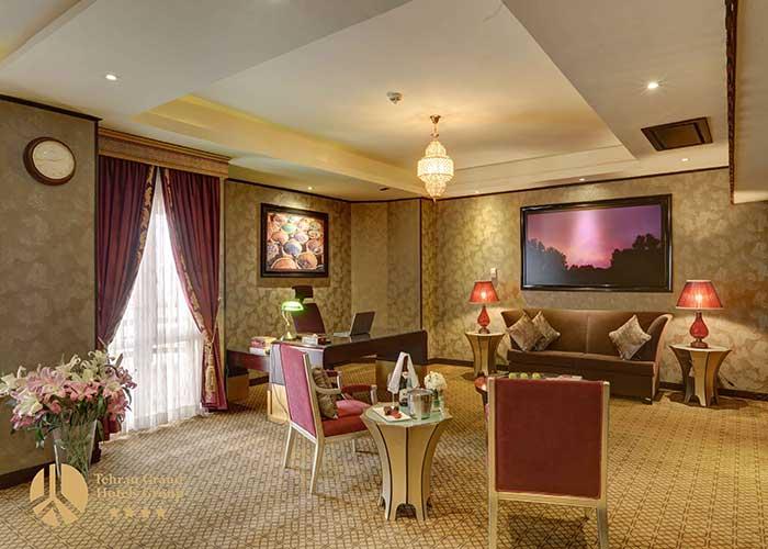 مبلمان سویئت های هتل بزرگ تهران