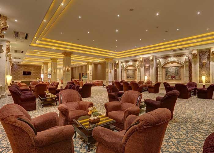 لابی هتل بزرگ تهران دو
