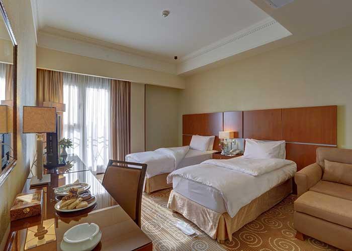 دو تخته توئین هتل بزرگ تهران دو