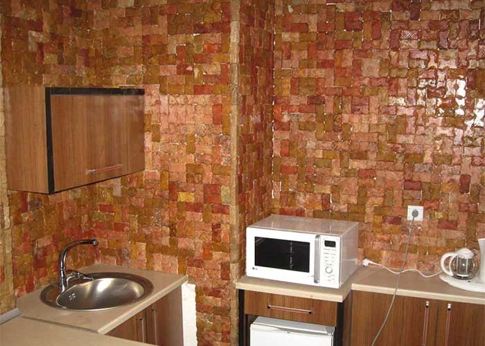آشپزخانه اتاق هتل تهرانی یزد