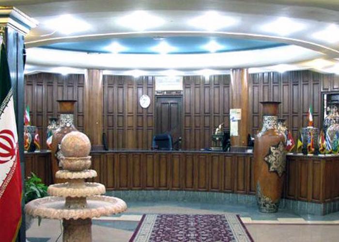 لابی هتل تهرانی یزد